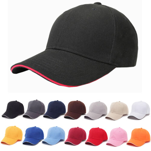 Unisex Verstellbar Baseball Kappe Cap Baseballmütze Mütze Herren Damen Hut Sport