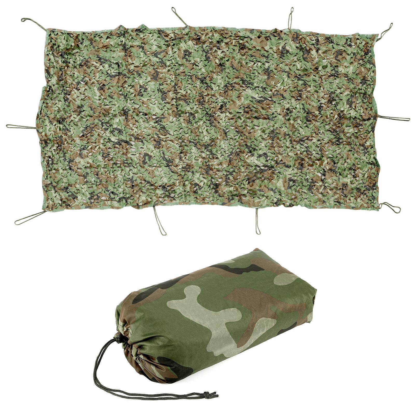 s l1600 - 1,5M 2M 3M 4M Malla de Camuflaje Acampada Camping Caza War Game Camuflaje