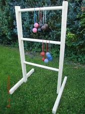 Leitergolf - Laddergolf - Bola - Naturbelassen - Geschenk - Neu - Fun - Spiel