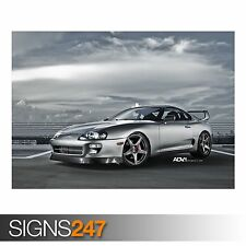 CAR POSTER Photo Picture Poster Print Art A0 to A4 ADV.1 NISSAN GTR AA637