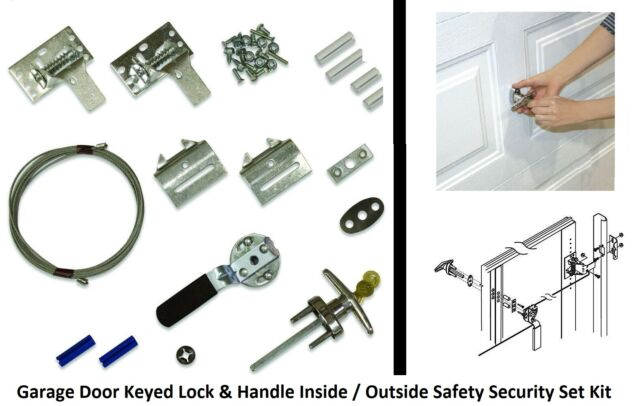 Clopay Garage Door Keyed Lock And Handle Inside Outside Safety