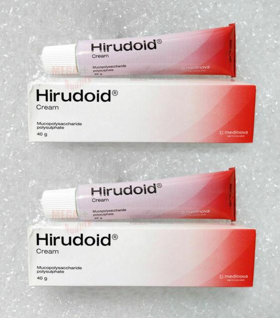 hirudoid cream for spider veins