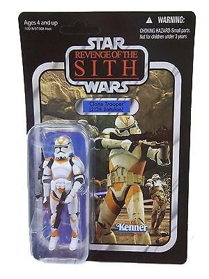 Hasbro Star Wars Revenge Of The Sith Clone Trooper 212th Battalion Action Figure For Sale Online Ebay
