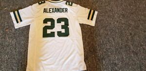 low priced 52296 402c5 Details about JAIRE ALEXANDER Unsigned Custom Sewn White New Football  Jersey S, M,L,XL,3XL