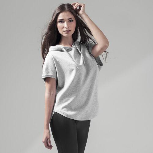 Build Your Brand Women/'s Sleeveless Hoodie BY034-Ladies Casual Cotton Sweatshirt