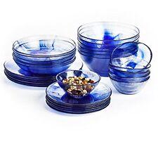 Bormioli Rocco Murano Soup Plates Blue Set of 6 New Free Shipping  sc 1 st  eBay & Bormioli Rocco Parma Dinner Plates Set of 6 White | eBay