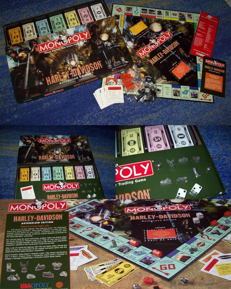 grandes precios de descuento Harley-Davidson monopoly monopoly monopoly  authorized edition  Edel rar artículo de colección  sin mínimo