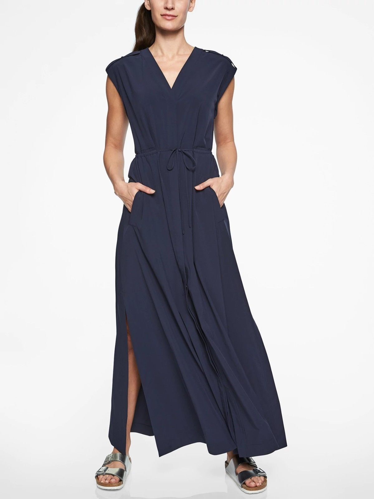 f684bd41 ATHLETA Mara Maxi Dress- Navy NWT NWT NWT Sz 2X PLUS 163f12 - jeans ...