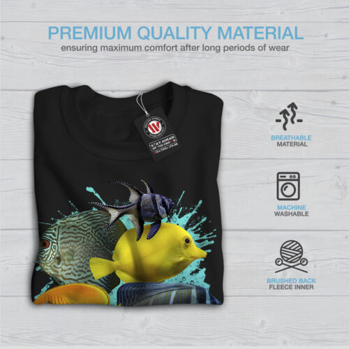 Animal da New Ocean Felpa Black Fish uomo Nature 4Xzzq