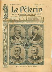 Dr-Monprofit-Dumont-Fournier-Sarloveze-Driant-Deputes-France-1910-ILLUSTRATION
