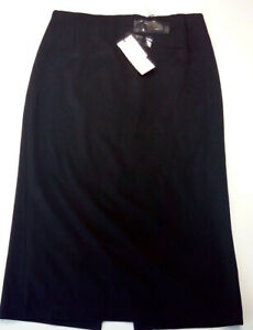 Woman-skirt-size-12-GB-GAIA-brand-Made-in-Italy-brown-classic-RRP-90