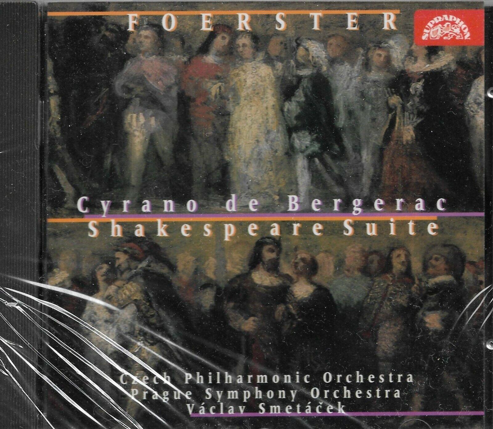 Foerster: Cyrano De Bergerac/Shakespeare Suite (CD, Sep-1996, Supraphon)  for sale online   eBay