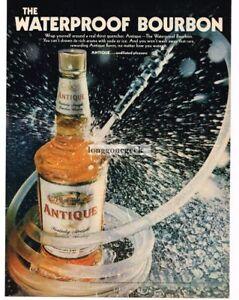 1968-ANTIQUE-Bourbon-Whiskey-Waterproof-Vtg-Print-Ad