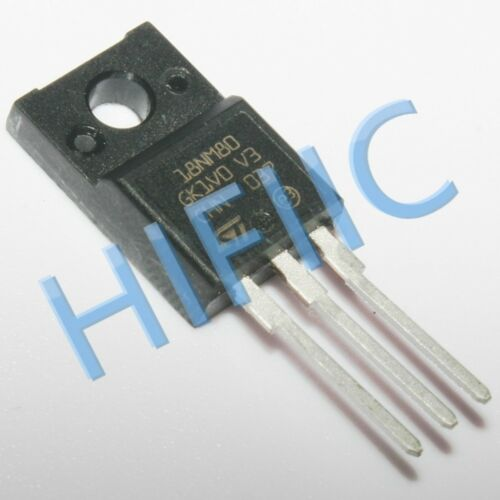 1//5pcs STF18NM80 18NM80 Power MOSFET TO220F
