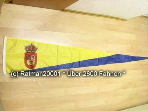 38 x 240 cm Fahnen Flagge Gran Canaria Wimpel Langwimpel