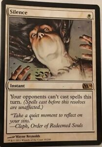 Silence-Magic-2014-M14-NM-MTG