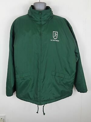 Kleidung & Accessoires Rotterdam Green Zip Up Padded Winter Coat Jacket Uk Xl Xlarge Aus Dem Ausland Importiert Mens Stream H.c