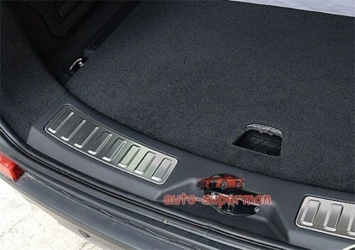 Rear bumper cargo door sill scuff plate For land rover Discovery Sport 2014-up