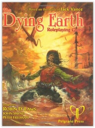 THE DYING EARTH  Roleplaying Game second edition pelgrane press PEL001 rpg NEW