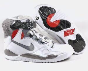 82a8abc9102 Nike Air Pressure OG Retro David Robinson White Grey Red 831279-100 ...