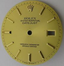 Rolex Datejust gilt Dial watch parts fit cal. 3035 & 3135 diameter 27.9 mm