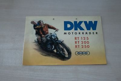 Dkw Rt 125 200 250 Prospekt 195 Brave 195524 Volume Large