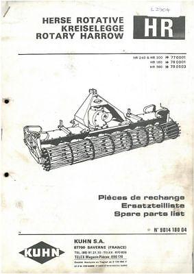Kuhn GA7301 Gyrorake Operators Manual