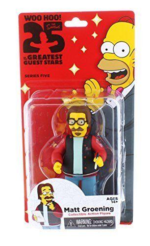 NECA Simpsons 25th Anniversary Series 5 Matt Groening