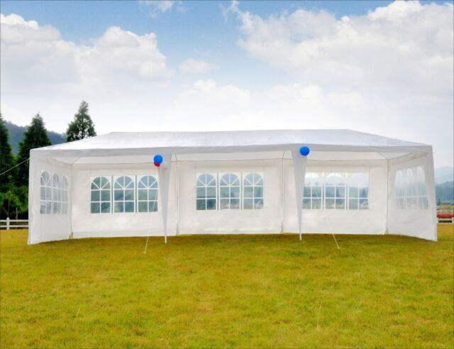 Gentil 10u0027x30u0027 Canopy Party Tent Wedding Outdoor Gazebo Patio BBQ 8 Removable Walls
