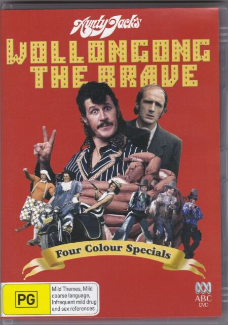 Aunty Jack's Wollongong The Brave - Four Colour Specials - DVD (Region 4 PAL)