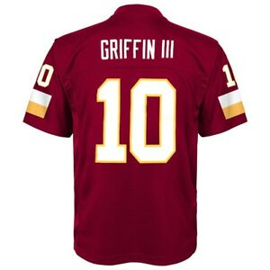 Details about Robert Griffin III NFL Washington Redskins Mid Tier Maroon Jersey Youth (S-XL)