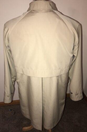Frakke Bean Med Blend l Liner Out L Wool H2off Sz Kvinders Jakke Beige Zip wI01qZ5