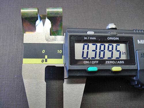 4 pcs NORS window regulator to lower sash clips fits Biscayne Nova Chevelle