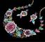Fashion-Wedding-Caystal-Rhinestone-Choker-Bib-Necklace-Statement-Bridal-Jewelry thumbnail 66