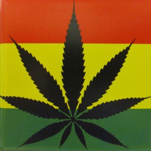 ☆ Zigarettenetui Hanfblatt 6 Dekore Zigarettenbox Cannabis 20 Zigaretten