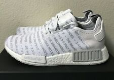 4945db2c7 item 4 Adidas NMD R1 Three 3 Stripes Whiteout Mens Sz 8  Women s Sz 9 Boost  S76518 NEW! -Adidas NMD R1 Three 3 Stripes Whiteout Mens Sz 8  Women s Sz 9  ...