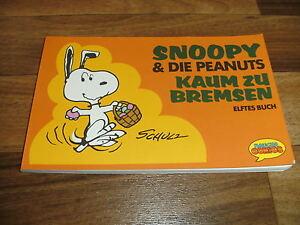 SNOOPY-amp-die-PEANUTS-11-Kaum-zu-Bremsen-Charles-M-Schulz-Krueger-1988