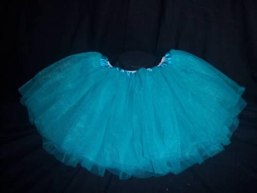 Turquoise Tulle Tutu Princess Skirt Dress-up or Dance!