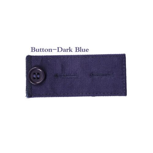 2PCS Pant Extender Belt Tight Trousers Jeans Skirts Maternity Button Hooks UK