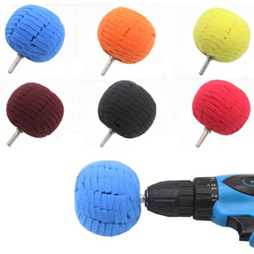 """80mm 3/"""" Buffing Ball Finishing Buff Polishing Pad For Car Polishing Polisher"""