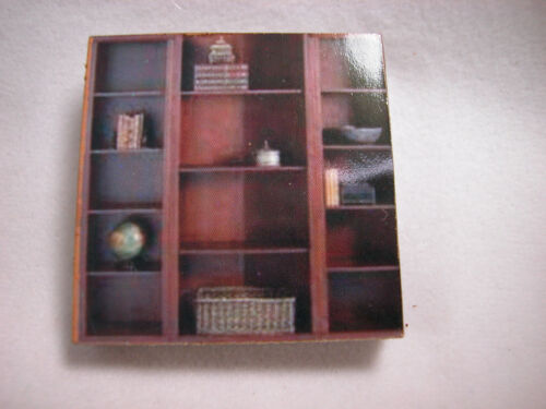 """Dollhouse Miniature 1//4/"""" Scale 1:48  Family Closet  Made of  Plywood #Z297F"""