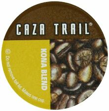 Caza Trail Single Serve Cup for Keurig K-cup Brewers, Kona Blend, 100 Count , Ne