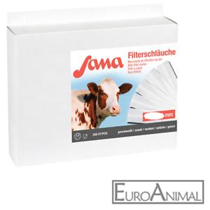 250 Stück Milchfilterschlauch geschweißt SANA Vlies Milch-Filter-Schläuche