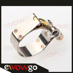 1-5-034-Inch-Turbo-Pipe-Hose-Coupler-T-bolt-Clamp-43-49mm-Stainless-Steel