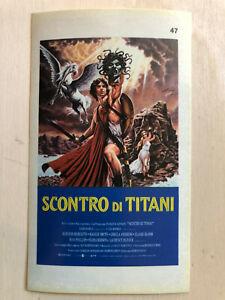 Poster Plakat Aufkleber Sticker 1981 Scontro Di Titani Kampf Der Titanen Moderater Preis Film-fanartikel Filme & Dvds