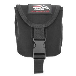 KEEP DIVING 2kg 5mm Webbling Scuba Diving Spare Weight Belt Pocket Pouch
