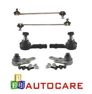 ASC-Lower-Ball-Joint-Anti-Roll-Bar-Outer-Track-Rod-End-x2-For-Vauxhall-Combo