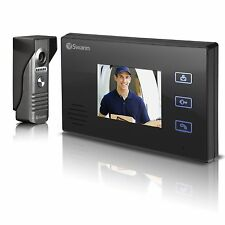 "Swann Doorphone Security Video Intercom Colour 3.5"" LCD Monitor Camera System"