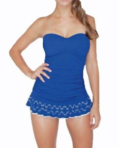 NWT-Profile-by-Gottex-Tummy-Control-Swimdress-One-Piece-Swimsuit-Plus-Size-20W