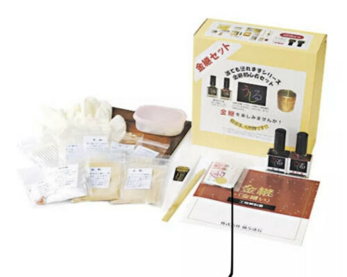 Kintsugi Repair complete Kit for begginer  w// English manual urushi diy japan